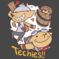 [Dota2]Techies:BaBaBoom!!!