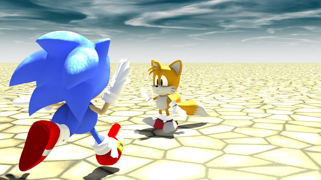sonic meets rainbine by - photo #34