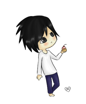 -Death Note- You Want Cupcake? by Azala-Chan