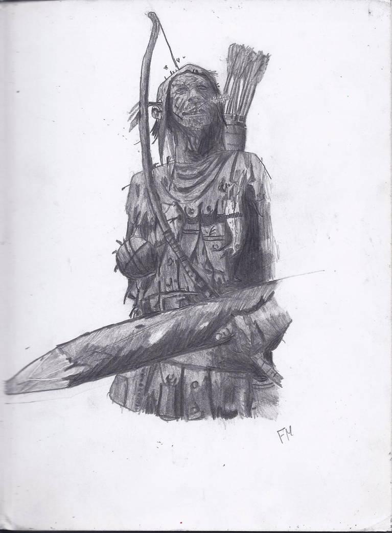 Warhammer Bretonnian Archer