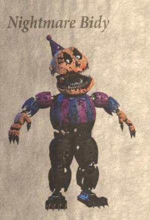 NightmareBidy by balloonfuckboy