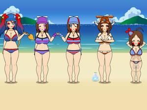 Kisekae 2 Summer special - Balloon family 5
