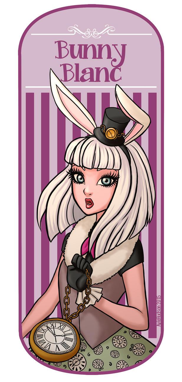 Bunny Blanc by AvieHud...