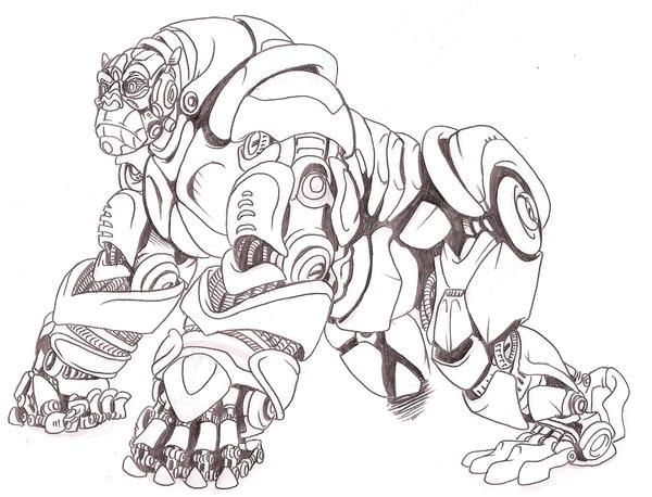 Munky not Trukk by Gozer-The-Destroyor