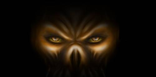 Demon eyes by uguom4e