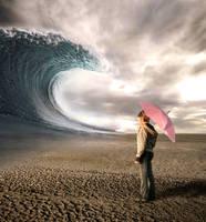 big wave in the desert by robsonbatista