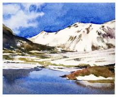 Plateau(snowy mountains)