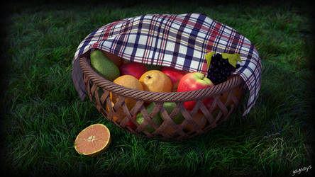 A fruit basket. by gagsays