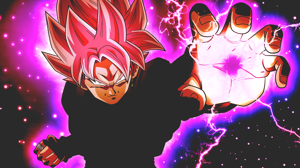 Goku Black Super Saiyan Rose copy by Marco-Dcj