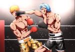 Ichigo Kurosaki VS Grimmjow by yukibou3333