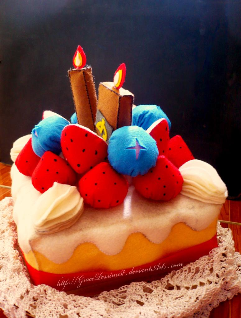 dA 10th Birthday Cake II by GracePessimist