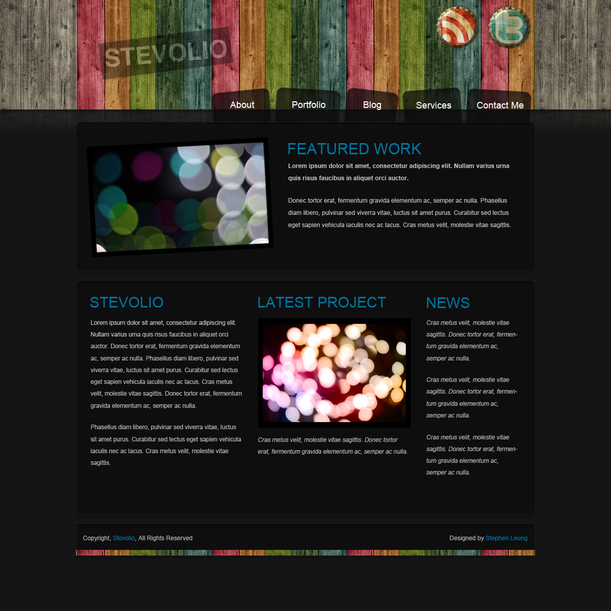 Web layout design portfolio by chibone on deviantart for Home page design ideas