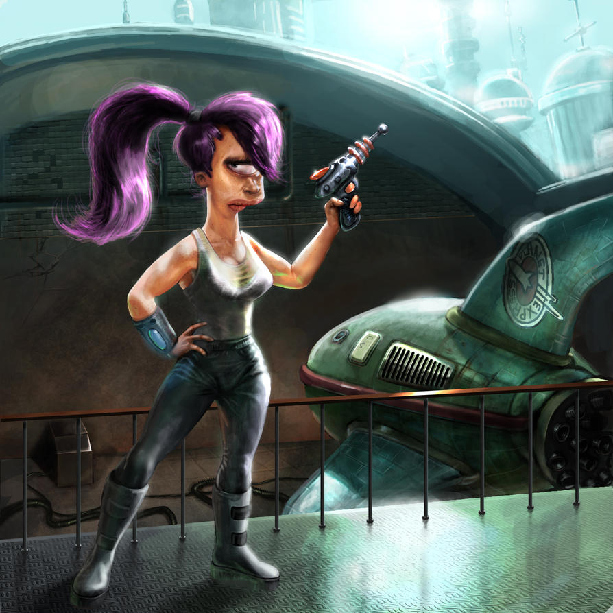 leela in the uncanny valley by sonofamortician