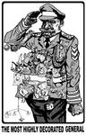 Most highly decorated general