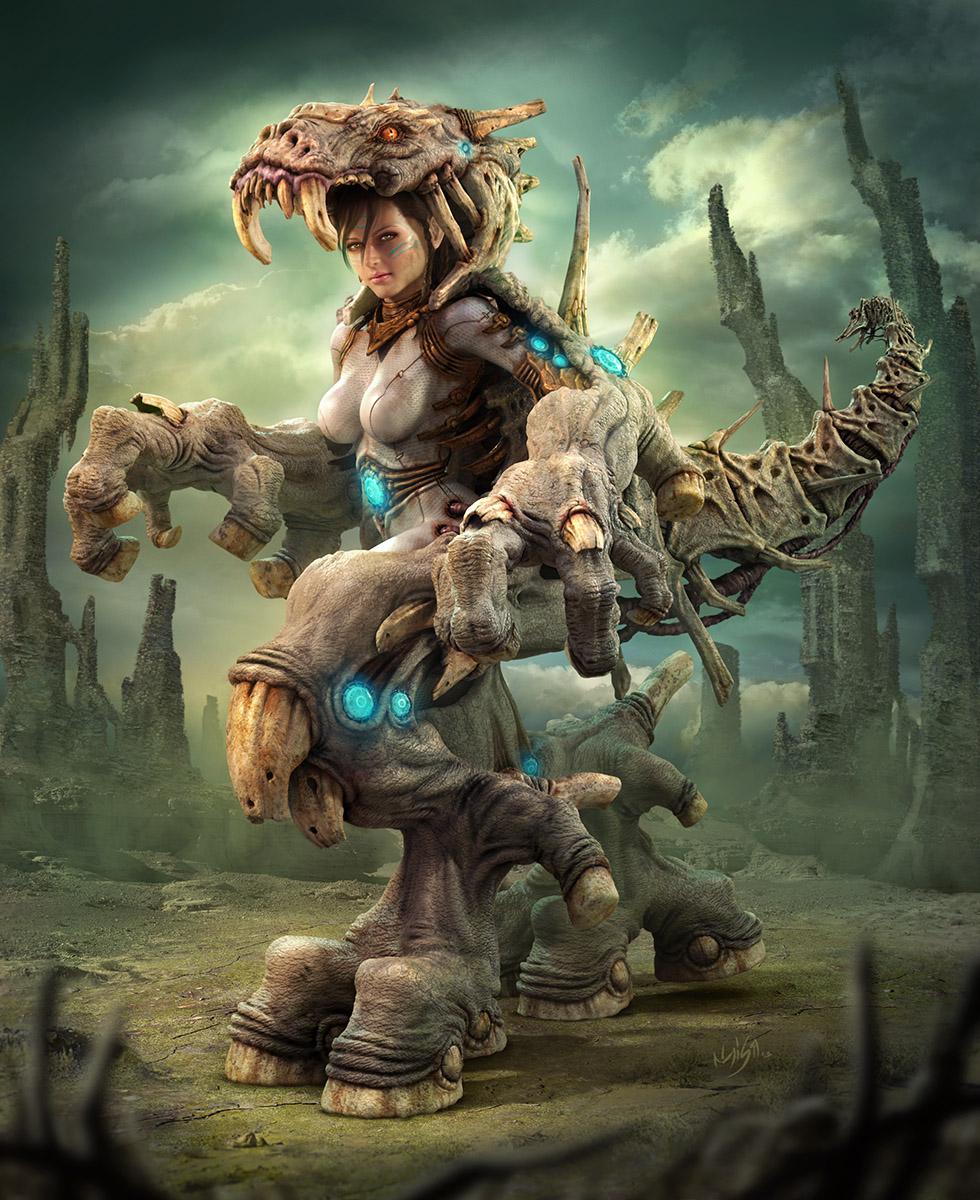 Michita Warrior by elmisa