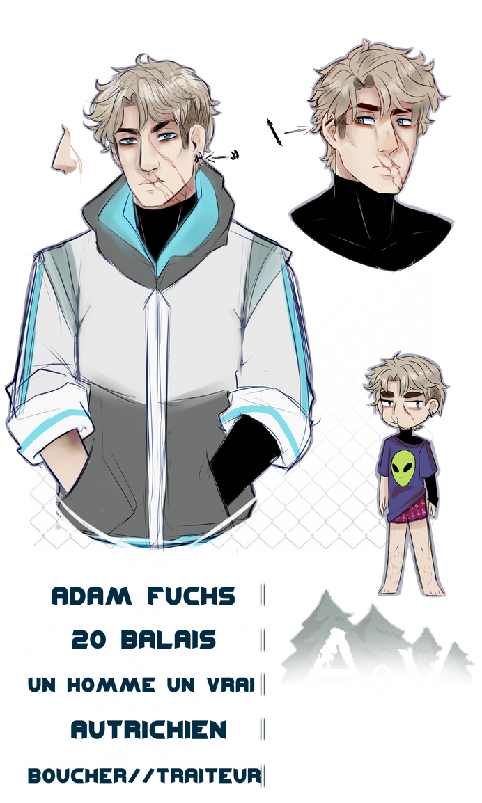 [AoV] Adam Fuchs by YumeYuuheii
