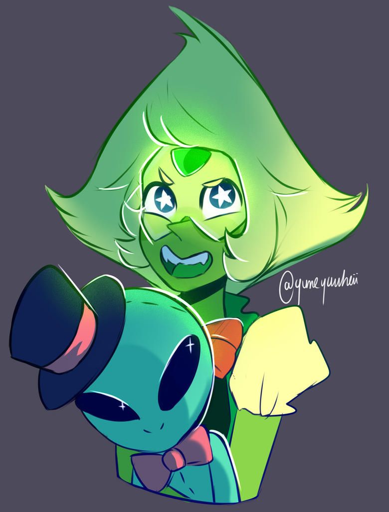 Nothing much to say I just wanted to draw Peri !  Thank you so much for 700+ watchers ~ !