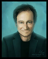 Robin Williams / gone too soon by MYuee