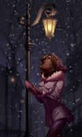 DeApp Secret Santa| First snow by nebularum