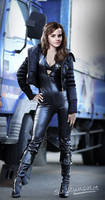 Emma Watson in another catsuit