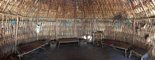 Inside An Indian Hut by TallyCrusher