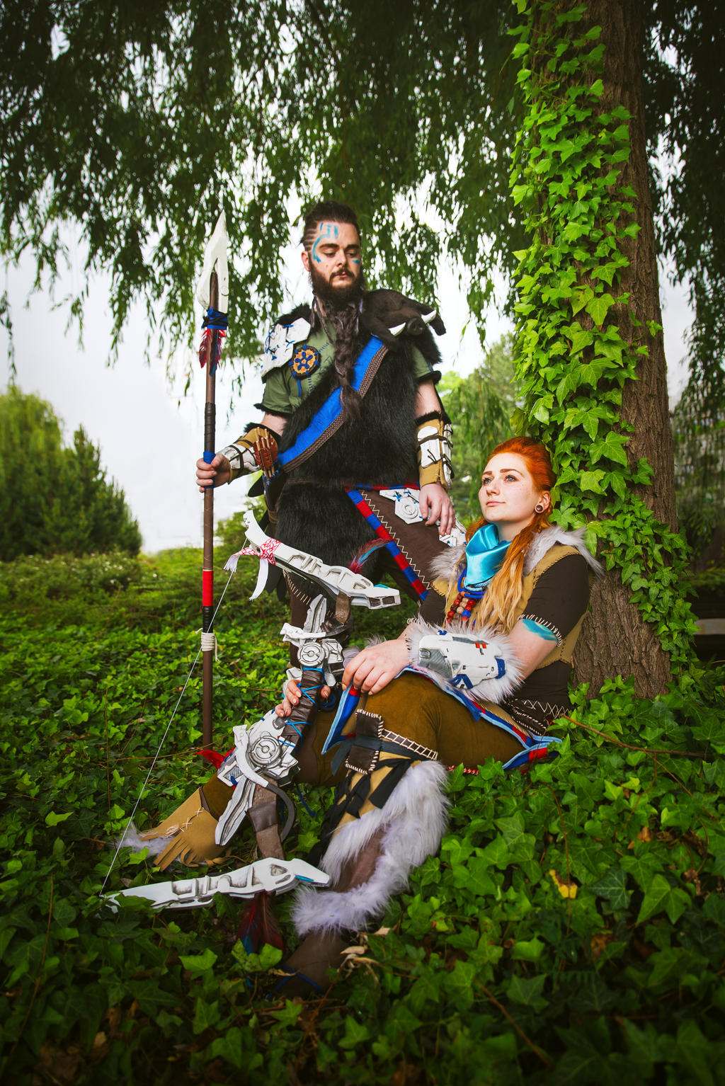 Aloy And Rost Cosplay Tree By Tynacosplay On Deviantart