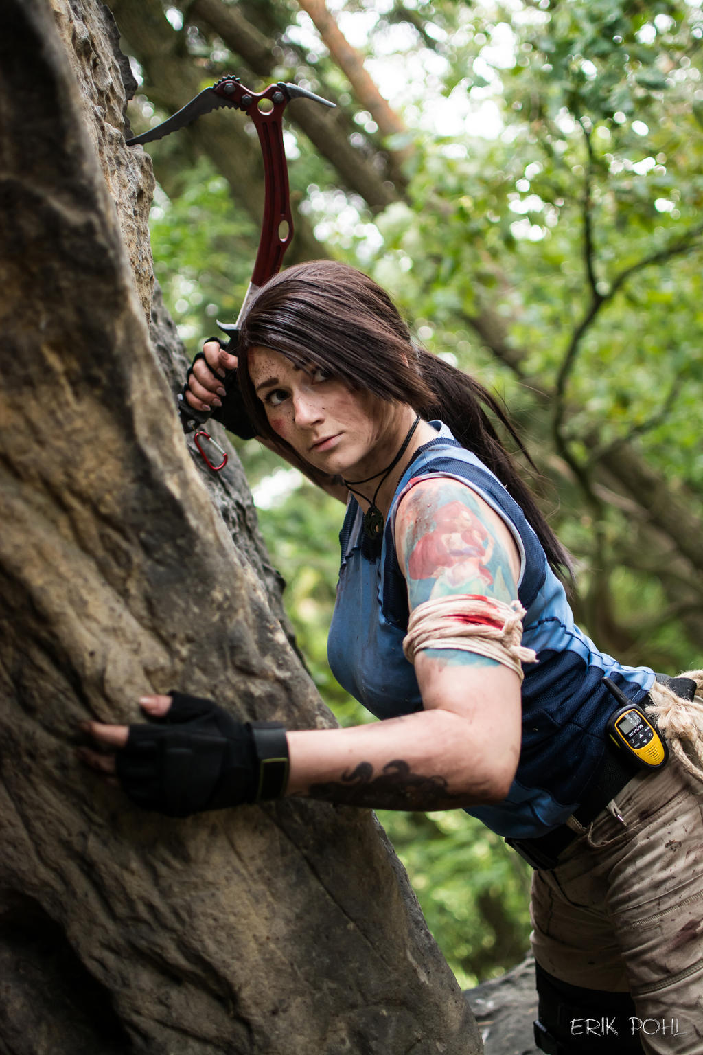 Lara Croft Shadow Of The Tomb Raider By Tynacosplay On