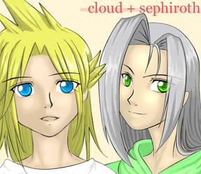 Fanart :: Kiddy Cloud + Sephy