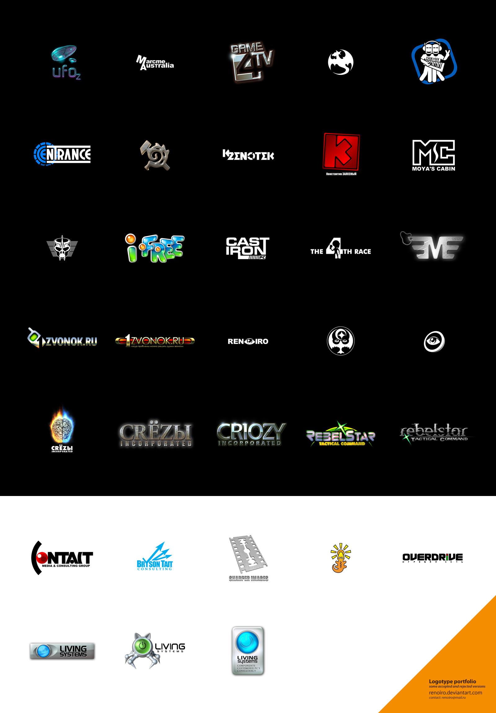 Logo portfolio by renoiro