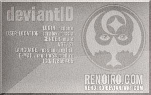 Renoiro ID by renoiro