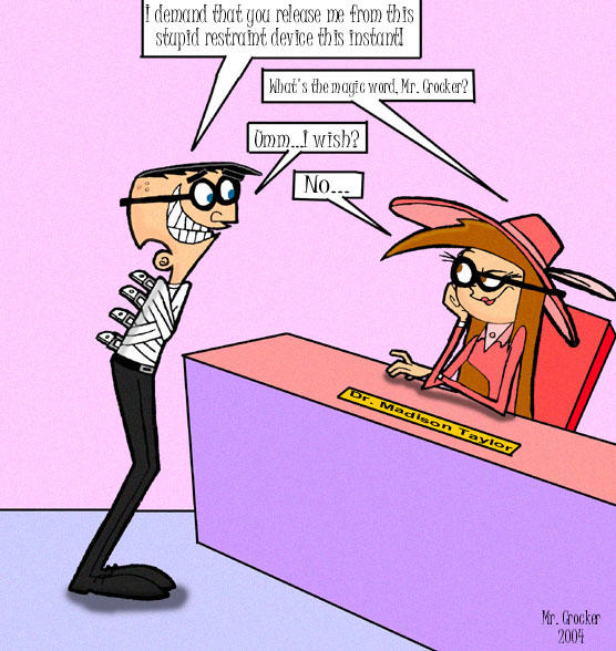 What S The Magic Word 8484919 on Fairly Oddparents Mr Crocker