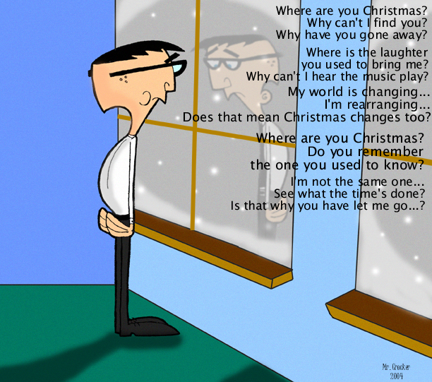 Where Are You Christmas By Mr Crocker On Deviantart