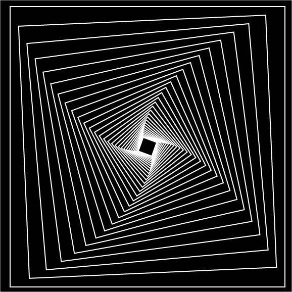 Line Optical Questions : Optical illusion by madmikeoo on deviantart