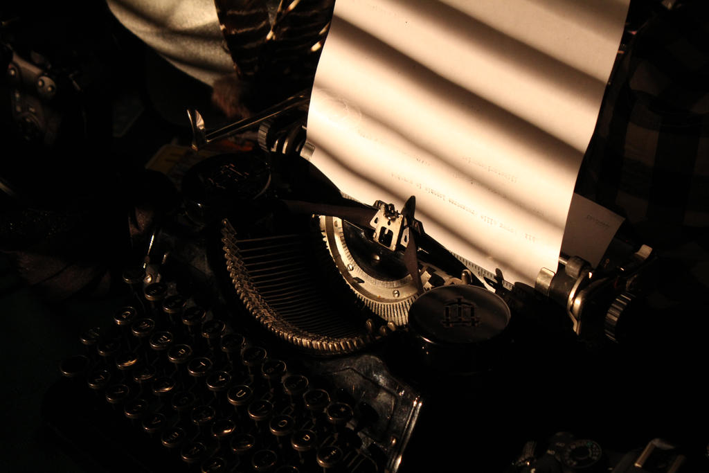 Typewriter by coltonreading