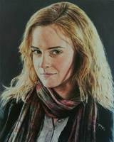 Emma watson oil paintaing #portrait  by RajRV