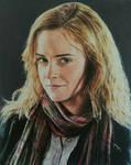 Emma watson oil paintaing #portrait