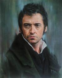 Hugh Jackman - Oil on Canvas