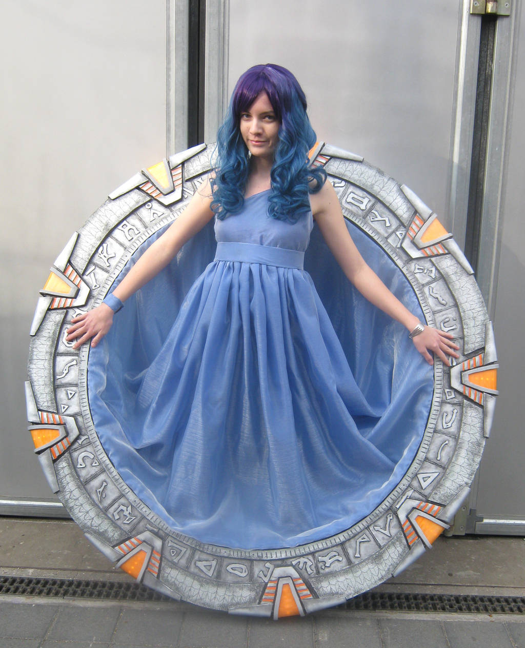 The Stargate girl by Nyima-chan