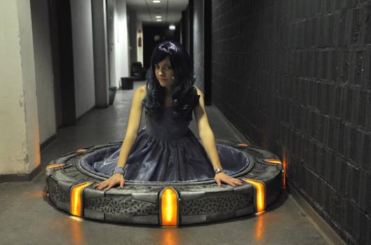 Sitting in a Stargate is fun :D
