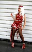 Lady Gaga meat dress by Nyima-chan