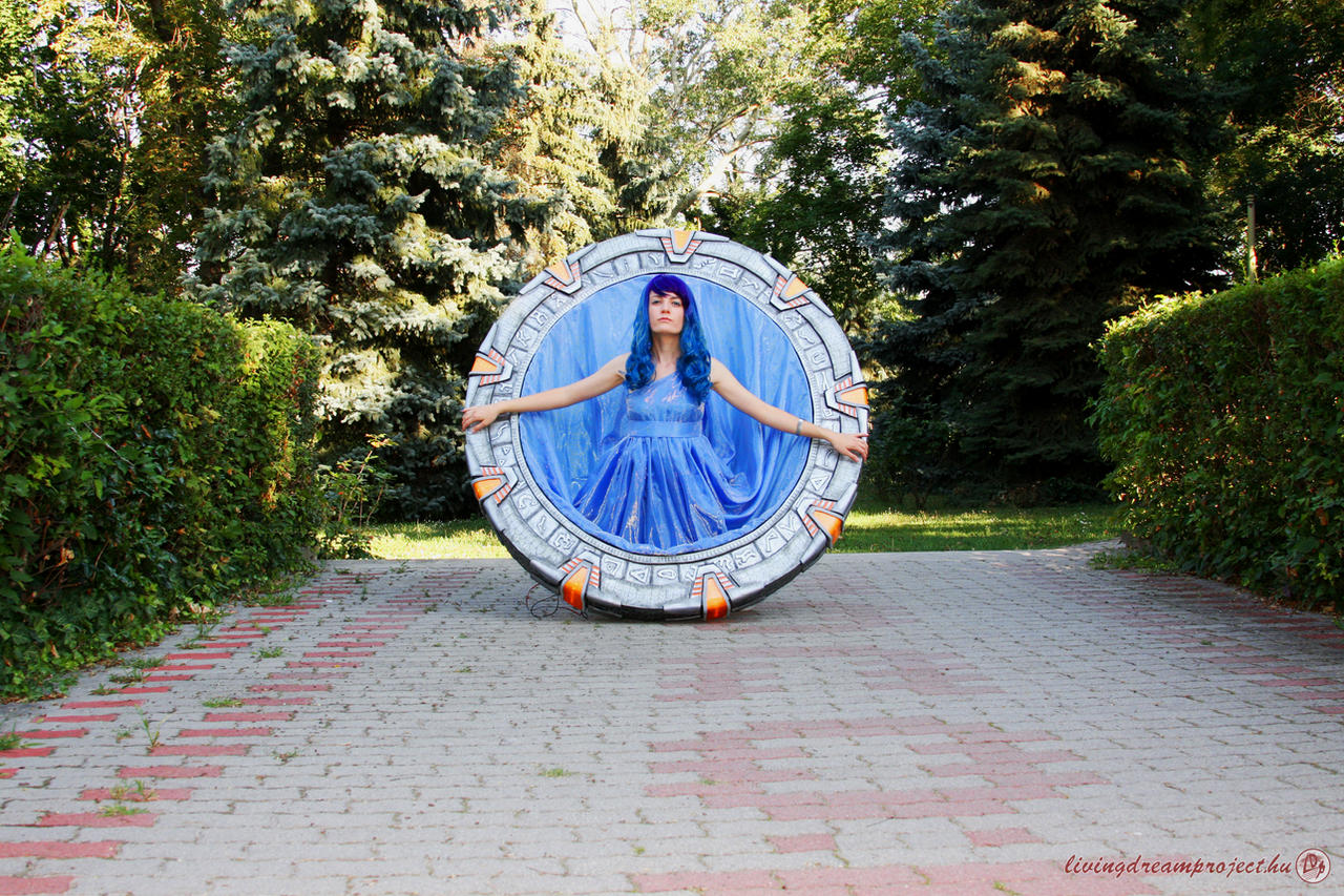 Stargate cosplay by Nyima-chan