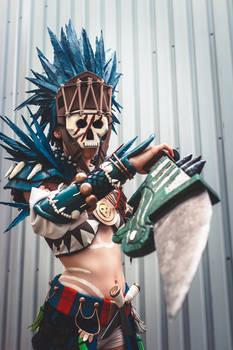 Guild Wars II Tribal armour cosplay