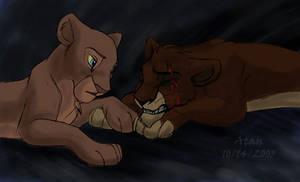 Scar and Sarafina