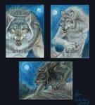 Werewolf ACEOs