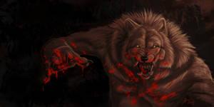Werewolf Speedpaint 6 by Atan