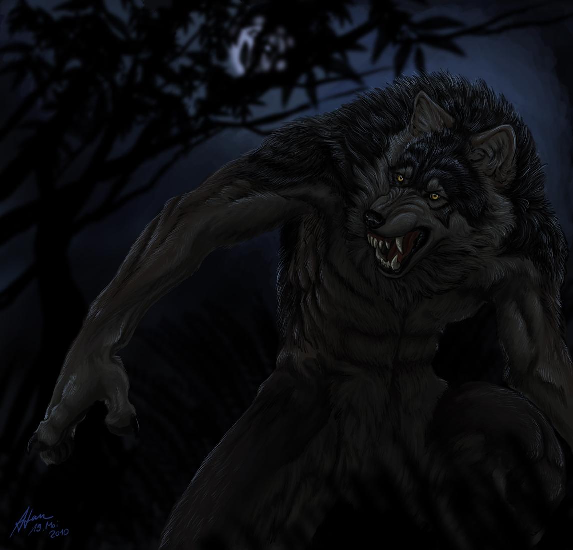 Through the night by Atan