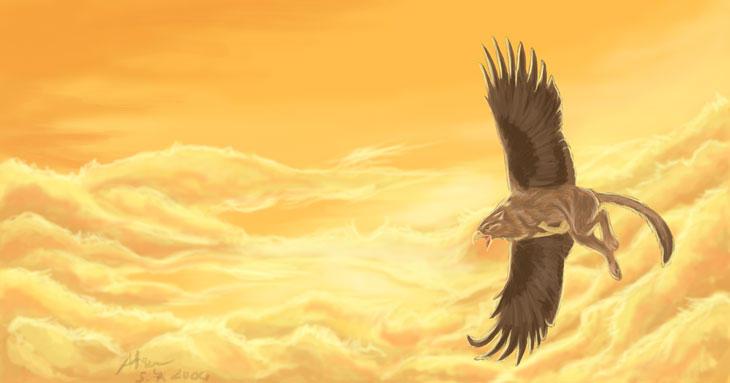 http://fc01.deviantart.com/fs4/i/2004/188/4/f/Griffin_in_Flight.jpg