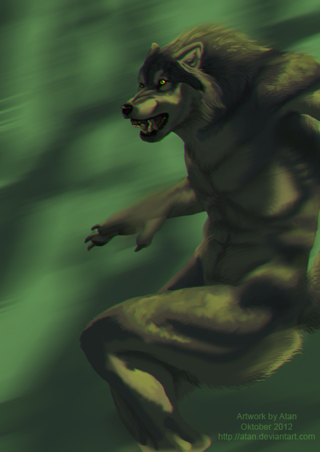 Werewolf Speedpaint 8 by Atan