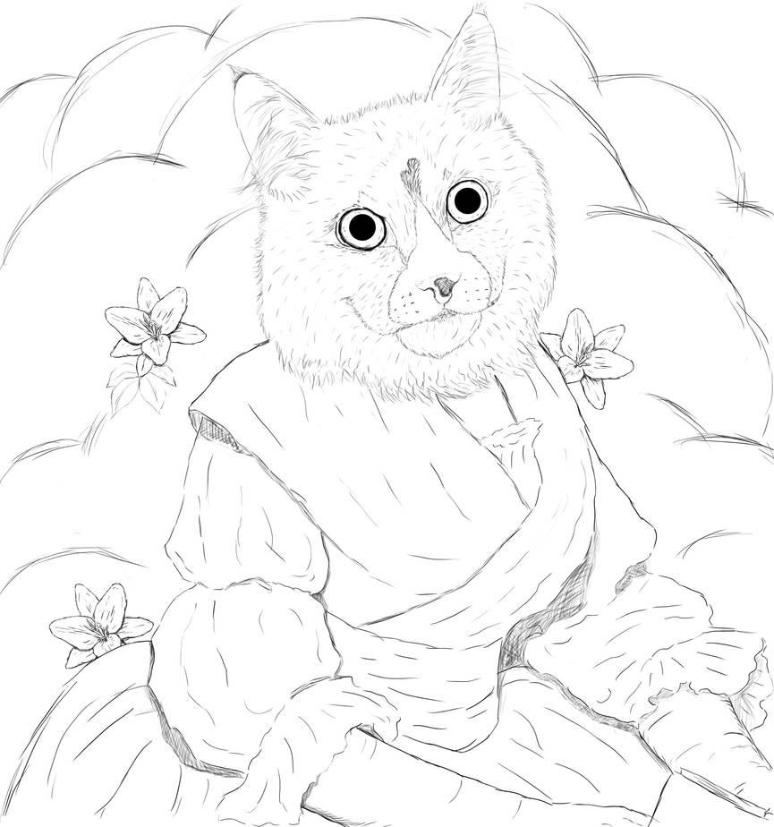 Cat by Baishev