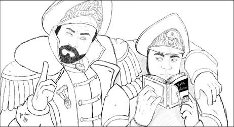 Tyler and Ivan 2 by Baishev